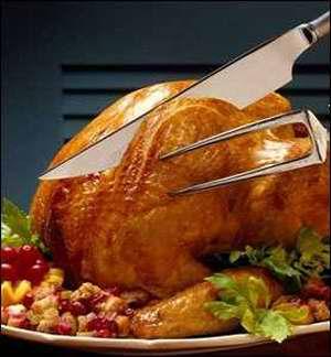 南瓜馅饼,这些菜一直是感恩节中最富于传统和最受人